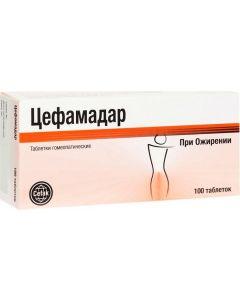 Buy Cefak Cefamadar homeopathic tablets # 100  | Online Pharmacy | https://buy-pharm.com