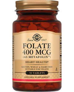Buy Solgar, Folate 400 mcg Metafolin 'Folate 400 mcg Metafolin' , 250 mg, 50 tablets | Online Pharmacy | https://buy-pharm.com