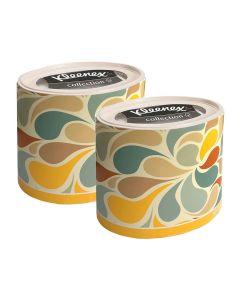 Buy 75371/2 Set of Kleenex paper tissues for the face, round box, colored petals, 64 pcs х 2 pcs | Online Pharmacy | https://buy-pharm.com