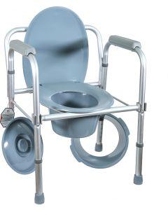 Buy Armchair Amrus AMCB6808 lightweight with a backrest, adjustable in height | Online Pharmacy | https://buy-pharm.com