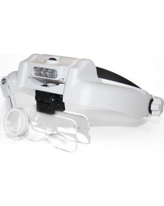 Buy Binocular forehead magnifier MG82000M with illumination | Online Pharmacy | https://buy-pharm.com