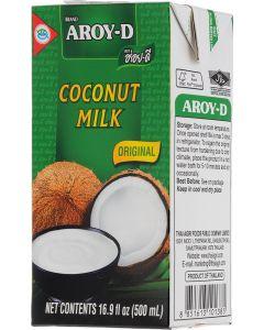 Buy Aroy-d Coconut milk 70% fat content 17-19%, 500 ml | Online Pharmacy | https://buy-pharm.com