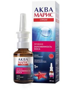 Buy Aqua Maris Jadran Strong nasal spray, 30 ml | Online Pharmacy | https://buy-pharm.com