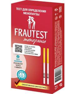 Buy Frautest Menopause test, test strips, 2 pcs | Online Pharmacy | https://buy-pharm.com
