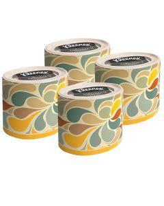 Buy 75371/4 Set Paper tissues for the face Kleenex, round box, color. petals, 3-cl, 64pcs x 4 pack | Online Pharmacy | https://buy-pharm.com