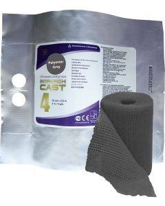 Buy Polymer bandage IR-0047, rigid cast, gray, 10 cm х 3.6 m | Online Pharmacy | https://buy-pharm.com