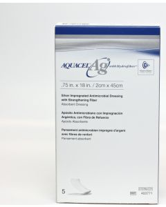 Buy Aquacel tape with reinforcing fiber with silver (Aquacel AG) ConvaTec 2X45 cm | Online Pharmacy | https://buy-pharm.com
