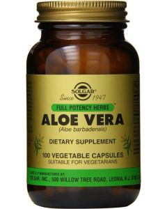 Buy Solgar, Aloe Vera 'Aloe Vera', 100 capsules   Online Pharmacy   https://buy-pharm.com