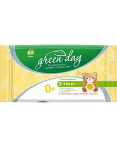 Buy Greenday Wet wipes for children 60 pcs | Online Pharmacy | https://buy-pharm.com