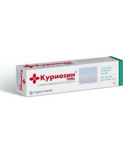 Buy Curiosin gel for external approx. 1.03 mg / g (aluminum tubes) 15g # 1 | Online Pharmacy | https://buy-pharm.com