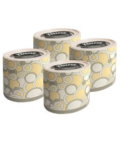 Buy 75364/4 Set of Kleenex paper tissues, round box, yellow circles, 3-cl, 64 pcs x 4 pack | Online Pharmacy | https://buy-pharm.com