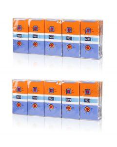 Buy 'Bella' three-layer paper handkerchiefs, 10 pcs. (2 packs)   Online Pharmacy   https://buy-pharm.com