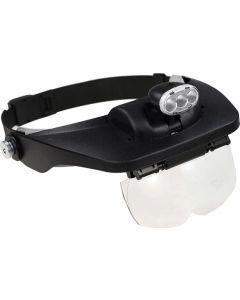 Buy Binocular head magnifier TEWSON MG81001-E with illumination (3 LED) | Online Pharmacy | https://buy-pharm.com