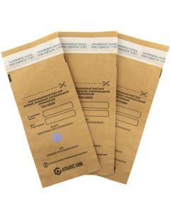 Buy MELT Kraft bags for sterilization 100x200mm | Online Pharmacy | https://buy-pharm.com