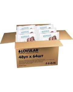 Buy Set of wet wipes Lovular For yourself and girlfriends. So cheaper !, 48 packs of 64 pcs | Online Pharmacy | https://buy-pharm.com