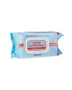 Buy Disinfectant wipes Desavid 100 pieces flow pack | Online Pharmacy | https://buy-pharm.com