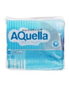 Buy AQUELLA cotton swabs, 200 pcs, 1 pack | Online Pharmacy | https://buy-pharm.com