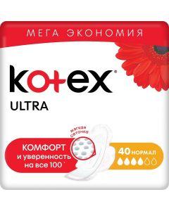 Buy Kotex Sanitary pads Ultra. Normal 40 pcs   Online Pharmacy   https://buy-pharm.com