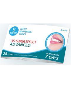 Buy Teeth Whitening Strips Shomi Shomi Sbudjet 3D Super Effect Advanced 7 Days Teeth Whitening Strips | Online Pharmacy | https://buy-pharm.com