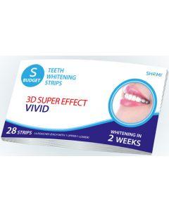 Buy Whitening strips for teeth Shomi Shomi Sbudjet 3D Super Effect Vivid 2 Weeks Whitening strips for teeth | Online Pharmacy | https://buy-pharm.com