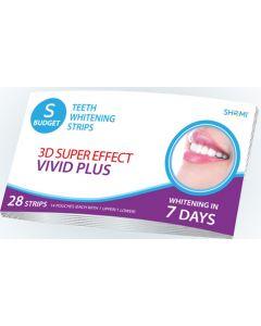 Buy Teeth Whitening Strips Shomi Shomi Sbudjet 3D Super Effect Vivid Plus 7 Days Teeth Whitening Strips | Online Pharmacy | https://buy-pharm.com