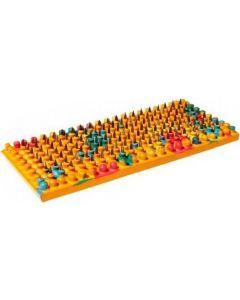 Buy Lyapko applicator 'Baby Mat', color: orange, needle pitch 3.5 mm, 36 x 84 mm | Online Pharmacy | https://buy-pharm.com