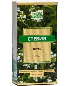 Buy Heritage of nature Stevia Dietary supplement to food, 20 sachets   Online Pharmacy   https://buy-pharm.com