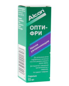 Buy Аlcon Drops for contact lenses 'Opti-Free', 15 ml | Online Pharmacy | https://buy-pharm.com