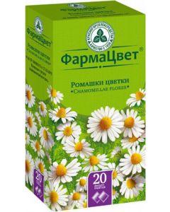 Buy Chamomile flowers filter bags 1.5 g # 20  | Online Pharmacy | https://buy-pharm.com