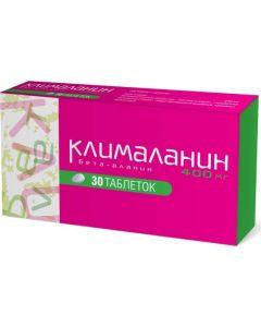 Buy Klimalanin Tablets, blisters, 400mg, # 30 | Online Pharmacy | https://buy-pharm.com