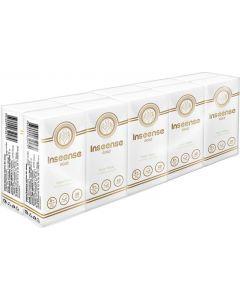 Buy Inseense paper handkerchiefs, three-layer, no fragrance, 10 pieces   Online Pharmacy   https://buy-pharm.com