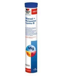 Buy DOPPELHERTZ Active Magnesium + B vitamins tab. spike. 6500mg with lemon and grapefruit flavor No. 15 (dietary supplement)   Online Pharmacy   https://buy-pharm.com