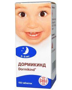 Buy Dormikind tab. d / rassas. homeopathic for children # 150  | Online Pharmacy | https://buy-pharm.com