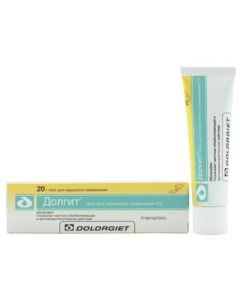 Buy Long gel d / nar. approx. 5% tube 20g | Online Pharmacy | https://buy-pharm.com