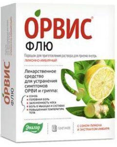 Buy ORVIS Flu pore. for inviting solution for oral administration lemon-ginger pack. 4.95g # 10 | Online Pharmacy | https://buy-pharm.com