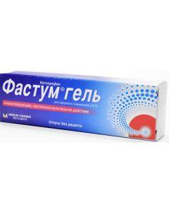 Buy Fastum gel d / bunk bed approx. 2.5% tube 100g   Online Pharmacy   https://buy-pharm.com