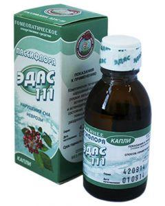 Buy Edas-111 Passionflower drops fl. 25ml (for neuroses) | Online Pharmacy | https://buy-pharm.com