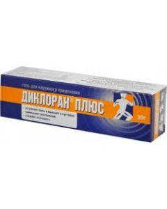Buy Dicloran Plus gel, 30 g   Online Pharmacy   https://buy-pharm.com