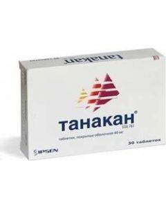 Buy Tanakan Tablets p / o, 40 mg, # 30 | Online Pharmacy | https://buy-pharm.com