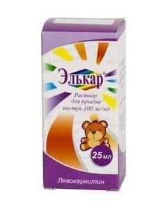 Buy Elkar solution for oral administration 300 mg / ml, 25 ml | Online Pharmacy | https://buy-pharm.com
