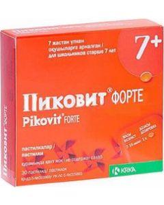 Buy Pikovit forte Tablets p / o, No. 30 | Online Pharmacy | https://buy-pharm.com
