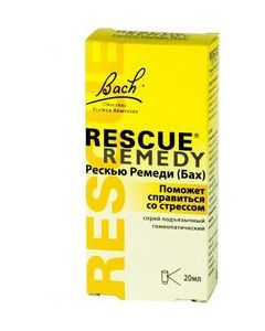 Buy Rescue Remedy Sublingual Spray, 20 ml | Online Pharmacy | https://buy-pharm.com