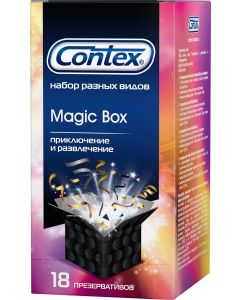 Buy A set of Contex Magic Box condoms, 18 pcs. | Online Pharmacy | https://buy-pharm.com
