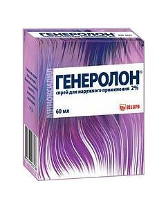 Buy Generolon spray for nap. approx. 2% fl. 60ml # 1 | Online Pharmacy | https://buy-pharm.com